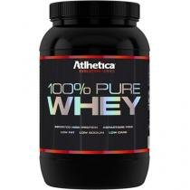 100% Pure Whey Protein 900g - Atlhetica Nutrition - Morango