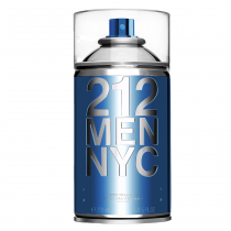212 Men NYC Seductive Body Spray Carolina Herrera - Perfume Masculino para o Corpo - 250ml - Carolina Herrera