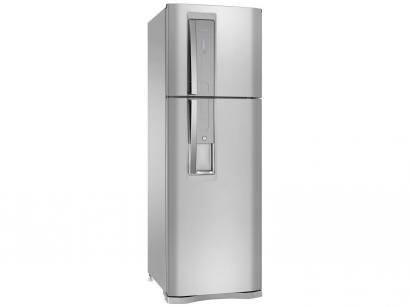 Geladeira/Refrigerador Electrolux Frost Free Inox - Duplex 380L Painel Touch DW42X11089