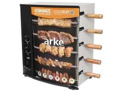 Churrasqueira à Gás Arke AGR-05 - com 5 Espetos