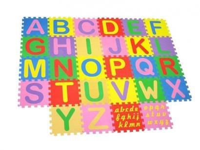 Tapete de Atividades Fofinho Alfabeto 28 Peças - Mingone