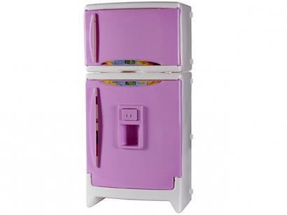 Refrigerador Duplex Casinha Flor com Som - Xalingo