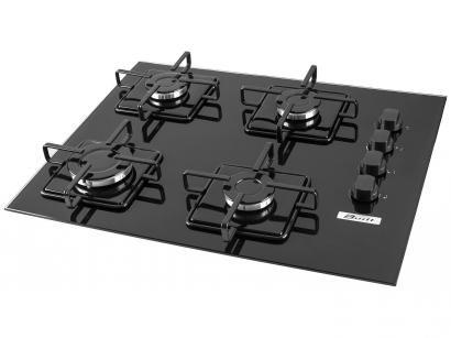 Cooktop 4 Bocas Built BLT4QPR a Gás - Acendimento Superautomático