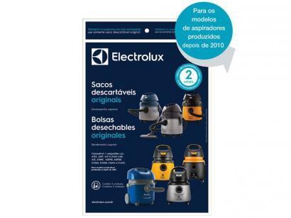 Saco para Aspirador de Pó Electrolux A10 - 6 Litros Descartável 3 Unidades