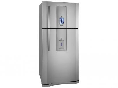 Geladeira/Refrigerador Electrolux Frost Free Inox - 542L Dispenser Água Painel Touch DT80X11089