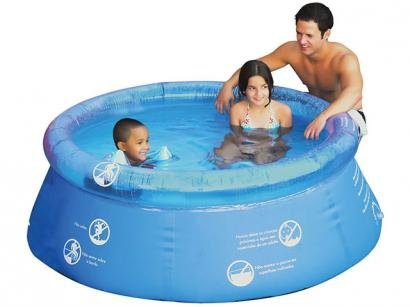 Piscina Redonda Splash Fun 1400 Litros - Mor