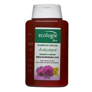 Ecologie Fios Anticaspa Ecologie - Shampoo Anticaspa - 275ml - Ecologie