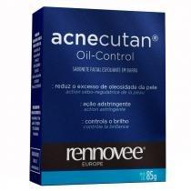Acnecutan Oil Control Nutrilatina - Sabonete Esfoliante Facial - 85g - Nutrilatina