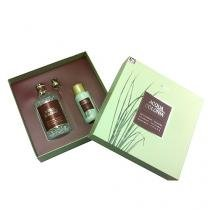 Acqua Colonia Vetyver  Bergamot Eau de Cologne 4711 - Perfume Unissex 170ml + Gel de Banho 75ml - 4711