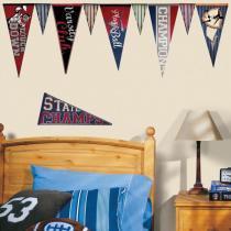 Adesivo de Parede Flâmulas Varsity   Roommates - Roommates