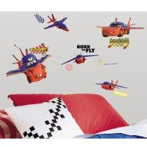 Adesivo de Parede Infantil removível Carros 2 Aéreo Mater   Roommates - Roommates