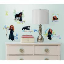 Adesivo de Parede Infantil Valente Decoração removível - Roommates - Roommates
