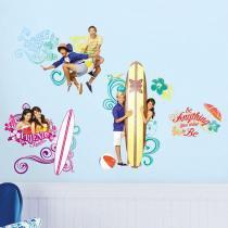 Adesivo de Parede Juvenil Teen Beach  O Filme  Disney  Removível - Roommates - Roommates