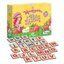 Alfabeto Moranguinho ABC 72 peças em madeira - Xalingo - Moranguinho