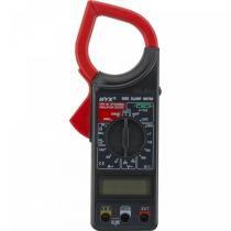 Alicate Amperímetro CAT II 266C Preto e Vermelho -  Hyx - HYX