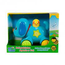 Animalzinho Aperta e Vai Emite Som e Luzes 1606 Bee Me Toys - Bee Me Toys