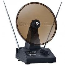Antena com Parabólica para TV VHF/UHF/FM Digital/Analógica - Vinik - Vinik