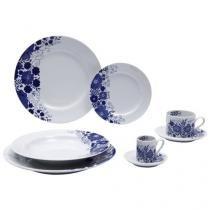 Aparelho de Jantar 42 Peças Schmidt Porcelana - Prática Glória