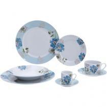 Aparelho de Jantar em Porcelana 42 Peças - Casambiente TEA001