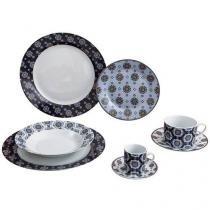 Aparelho de Jantar Turquia 42 Peças - Casambiente