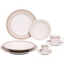 Aparelho de Jantar Vera 42 Peças - em Porcelana - Schmidt