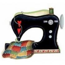 Aplique Madeira e Papel Maquina Costura LMAPC-181 - Litocart - Litocart