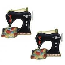 Aplique MDF Decoupage com 2 Unidades Maquina de Costura LMAP-044 - Litocart - Litocart