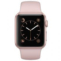 Apple Watch Series 1 38mm Alumínio 8GB Esportiva - Areia-Rosa