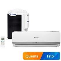 Ar-Condicionado Split Springer 12000 BTUs - Quente/Frio Filtro Dual Mix 42FNQA12S5