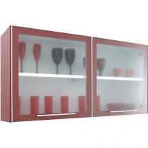 Armário de Cozinha Aéreo CasaMob 2 Portas - Aço Galvanizado