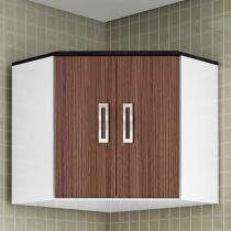 Armário de Cozinha Aéreo de Canto Poliman Móveis - 0125.80 2 Portas