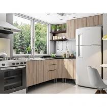 Armário de Cozinha Líder Casa Aroma - 6 Portas 3 Gavetas