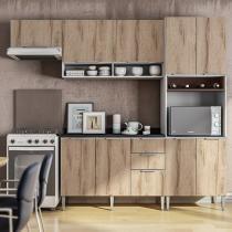 Armário de Cozinha Líder Casa Aroma - 9 Portas 3 Gavetas