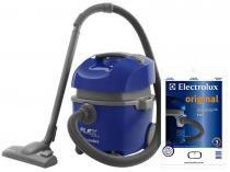 Aspirador de Água e Pó 1400 Watts - Electrolux Flex S + Kit Sacos Descartáveis Flex 7