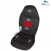 Assento Massageador com Aquecimento, 5 Motores, RM-AM2602 - Relaxmedic - Relaxmedic
