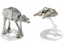 AT-AT vs. Rebel Snowspeeder Hot Weels Star Wars - Mattel