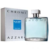 Azzaro Chrome Eau de Toilette Azzaro - Perfume Masculino - 100ml - Azzaro