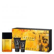 Azzaro Pour Homme Azzaro - Masculino - Eau de Toilette - Perfume + Pós barba + Shampoo - Azzaro