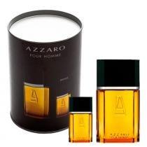 Azzaro Pour Homme Eau de Toilette Azzaro - Kit Perfume Masculino 30ml + Miniatura 7ml - Azzaro