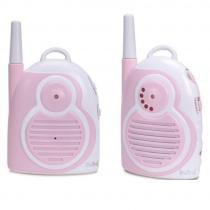 Babá Eletrônica com Dois Adaptadores Bivolt 9995 Rosa Buba Toys - Buba