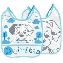 Babador Dalmatas Baby Go Decorado e Plastificado 1UN - Baby Go