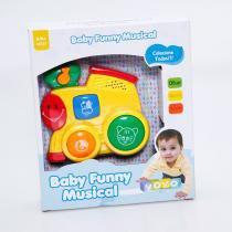Baby Funny Musical Infatil com Som de Animais Yoyo Baby - Yoyo Baby