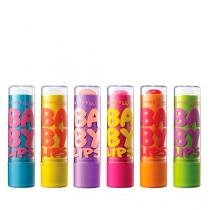 Baby Lips Kit com 6 Maybelline - Kit de Hidratante Labial - Maybelline
