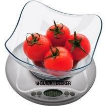 Balança de Cozinha BC200B Digital 3kg - Black  Decker - Black  Decker