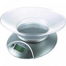 Balança de Cozinha Digital 5Kg Cinza - Brasfort - Bivolt - Brasfort