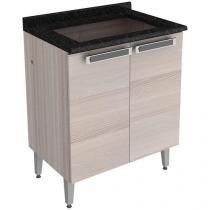 Balcão com Tampo para Cooktop Itatiaia 2 Portas - New Cook Top