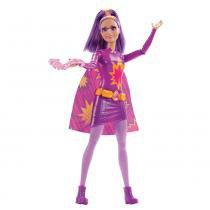 Barbie Heroínas Roxa - Mattel - Mattel