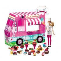 Barbie Massinha Food Truck Sorvetes e Delícias - Fun Divirta-se - Fun Divirta-se