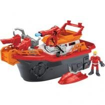 Barco Combate ao Fogo Imaginext - Fisher-Price