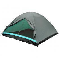 Barraca Camping Dome 4 Premium com Piso em Polietileno 102800 Verde - Belfix - Belfix